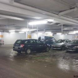 Parking Real niczym Zimowy Pałac
