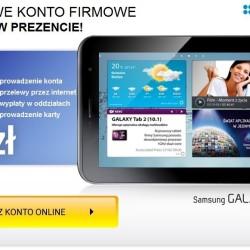 Tablet Samsung Galaxy Tab 2 za darmo.