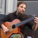 Grałem na gitarze.