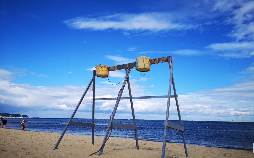 Spacer plażą