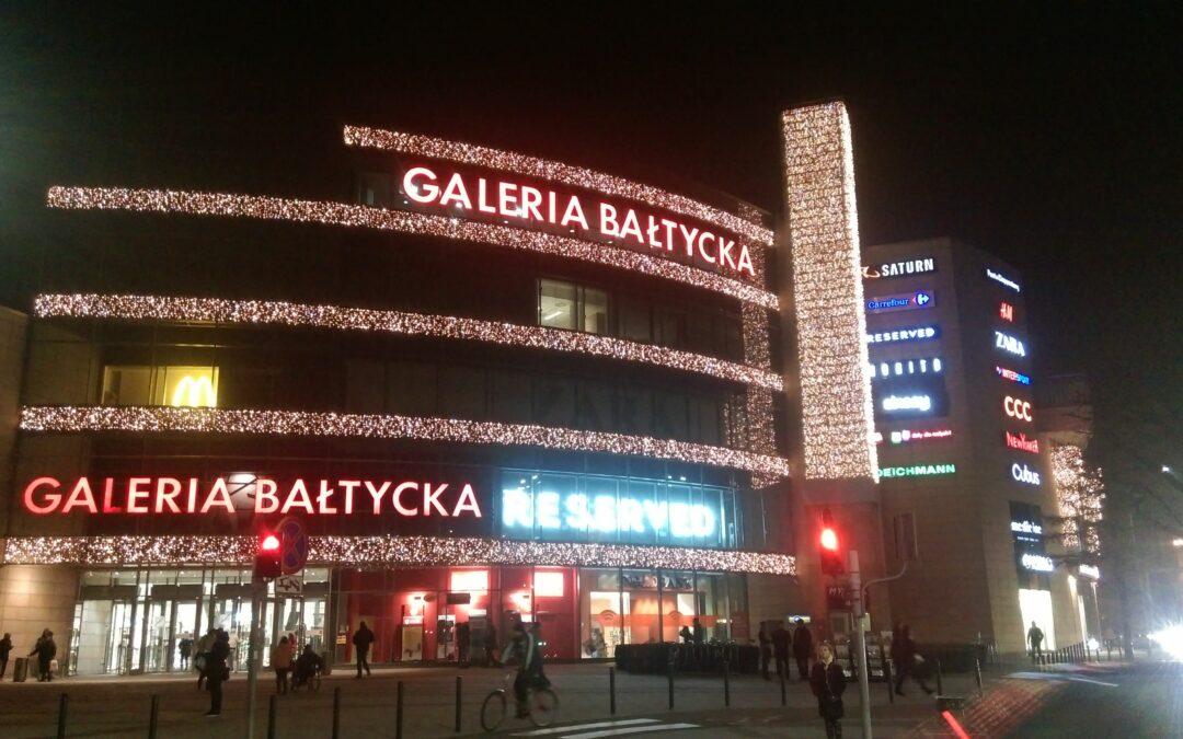 Palarnia przed Galerią Bałtycką